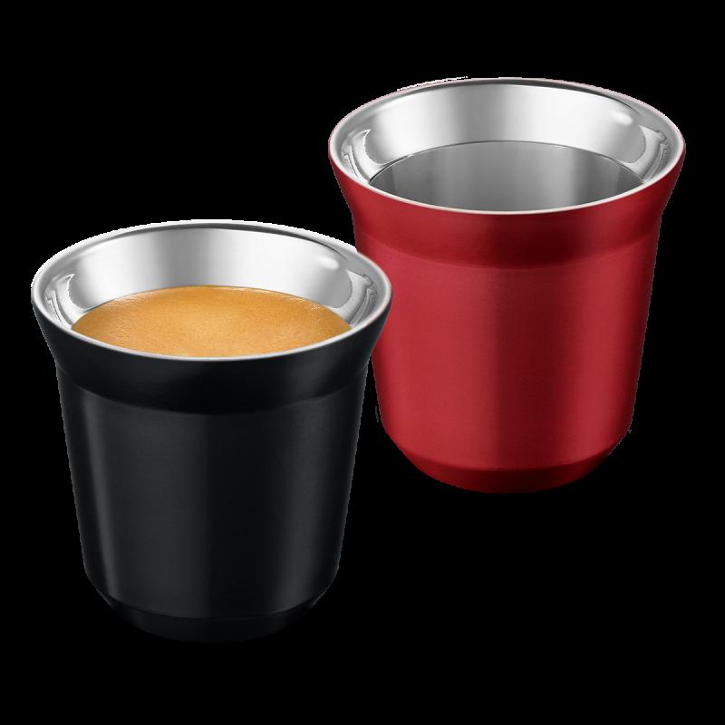 PIXIE Espresso set šalica, Ristretto & Decaffeinato