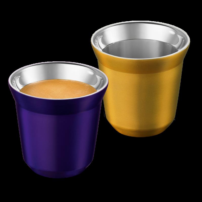 PIXIE Espresso set šalica, Arpeggio & Volluto